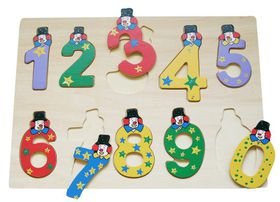 SNOOKUMS - Wooded Puzzle Numbers - 10 Pieces