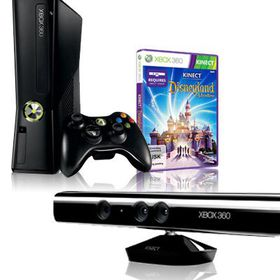 Xbox 360 4GB Console with (Kinect Sensor + Adventures + Disneyland Adventures) 