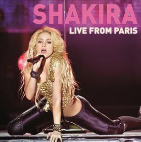Shakira - Live From Paris (CD)