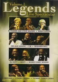 Legends Live Spectacular - Vol.1 - Various Artists (DVD)