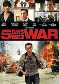 5 Days of War - (Region 1 Import DVD)