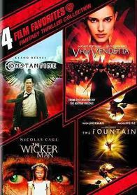 Film Favorites:Fantasy Thrillers Coll - (Region 1 Import DVD)