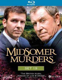 Midsomer Murders Set 19 - (Region A Import Blu-ray Disc)
