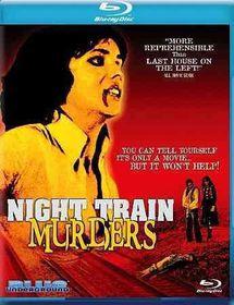 Night Train Murders - (Region A Import Blu-ray Disc)