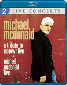 Michael Mcdonald:Live/Tribute Motown - (Region A Import Blu-ray Disc)