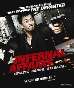 Infernal Affairs - (Region A Import Blu-ray Disc)
