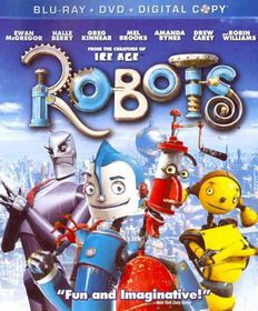 Robots (Triple Play) - (Region A Import Blu-ray Disc)