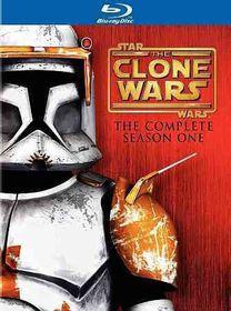 Star Wars:Clone Wars Season One - (Region A Import Blu-ray Disc)