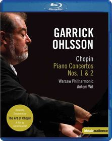 Chopin:Garrick Ohlsson Plays Chopin T - (Region A Import Blu-ray Disc)