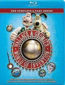 Wallace & Gromit's World of Invention - (Region A Import Blu-ray Disc)