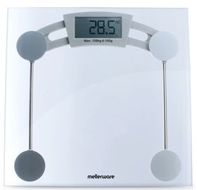 Mellerware Munich Glass Bathroom  Scale