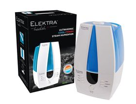 Elektra - Ultrasonic Cool/Warm Steam Humidifier