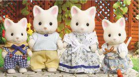 Sylvanian Family - Silk Cat Family