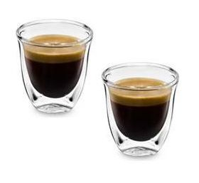 Delonghi - Double Wall Thermo Espresso Glasses