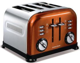 Morphy Richards - 4 Slice Accent Toaster - Copper