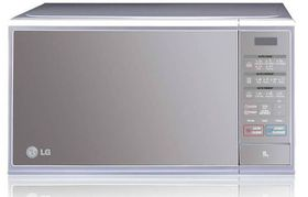 LG - 30L Microwave Oven - 850 Watt - Mirror and Silver