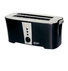 Sunbeam Vegas - 4 Slice Pop up Toaster - Chrome and Black