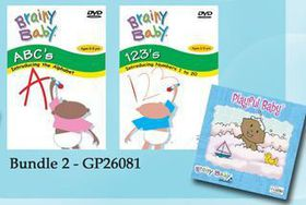 Brainy Baby - DVD/CD Bundle 2