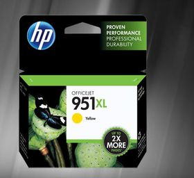 HP #951 XL Yellow Officejet ink Cartridge