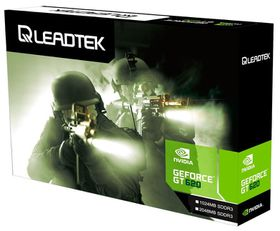 Leadtek Winfast GT 620 - SDDR3 PCI Express 2.0 Graphics Card - 1GB
