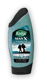 Radox - Shower Fresh Xceed Shower Gel - For Men 250ml