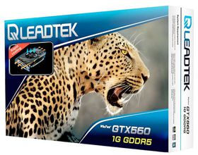 Leadtek WinFast GTX 560 - GDDR5 PCI Express 2.0 Graphics Card - 1GB