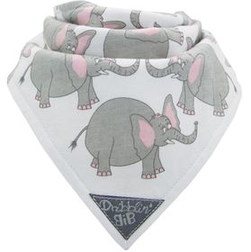 Dribblin' Bib - Trunket - Elephant
