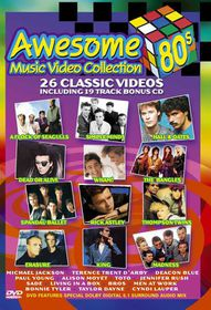 Awesome 80's Music + Bonus - Various Artists (DVD)