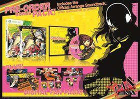 Persona 4 Arena: Pre-Order Limited Edition (Xbox360)