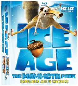 Ice Age 1 - 4 Box Set (Blu-ray)
