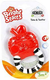 Bright Starts - Take and Teether - Red Apple