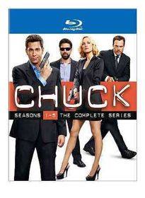 Chuck:Seasons 1-5 Complete Series - (Region A Import Blu-ray Disc)