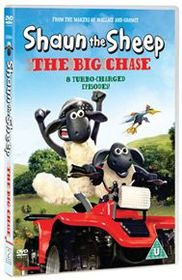 Shaun The Sheep: The Big Chase (Import DVD)