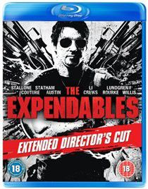 The Expendables: Extended Director's Cut (Import Blu-ray)