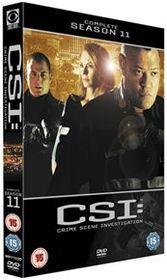 CSI - Crime Scene Investigation: The Complete Season 11 (Import DVD)