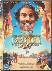 The Adventures of Baron Munchausen (Import DVD)
