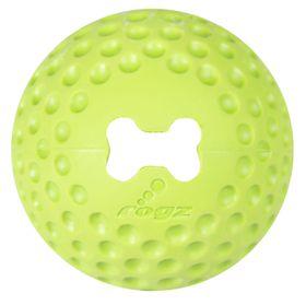 Rogz Dog Gumz Treat Ball Medium 64mm - Lime