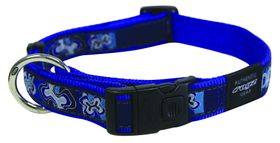 Rogz - Fancy Dress Large Beachbum Dog Collar - Navy