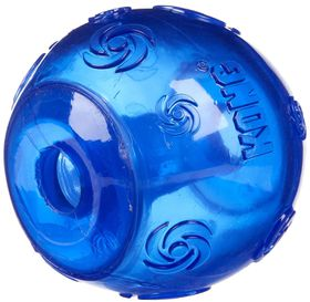 Kong Dog Toy Squeezz Ball - Large Blue