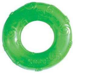 Kong Dog Toy Squeezz Ring - Medium Colors May Vary