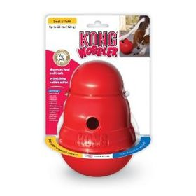 Kong -  Dog Toy Wobbler - Small - (Colours May Vary)