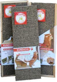 Kunduchi -  Deluxe Honeycomb Wooden Cat Scratcher Floor Unit Refill