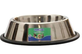 Marltons - Anti Slip Stainless Steel Dog Bowl - 1.8 Litre