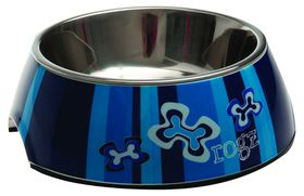 Rogz - Dog Bubble Bowl 2-in-1 - Small 160ml - Navy