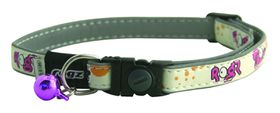 Rogz GlowCat Breakaway Glow in the Dark Reflective Collar