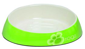 Rogz - Fishcake Melamine Cat Bowl - Lime