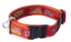 Rogz - Fancy Dress 2 x Extra-Large Special Agent Dog Collar - Tangerine