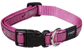 Rogz Fancy Dress Medium Scooter Dog Collar - Pink