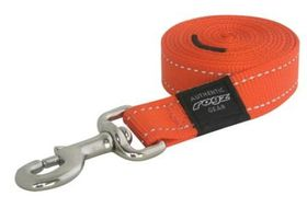 Rogz Utility Extra Extra Large Landing Strip Fixed Lead - Orange