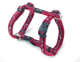 Rogz - Fancy Dress Extra-Large Armed Response Dog H-Harness - Red